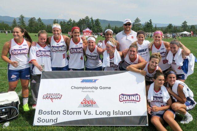 Long Island Sound - Women's pro lacrosse championship