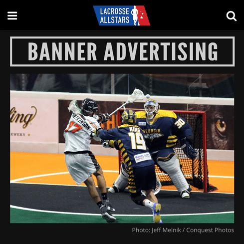 Banner Ads - LaxAllStars Display Advertising