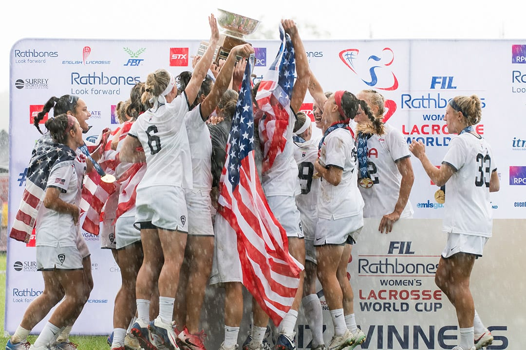 Chasing Rings with U.S. Women's National Team