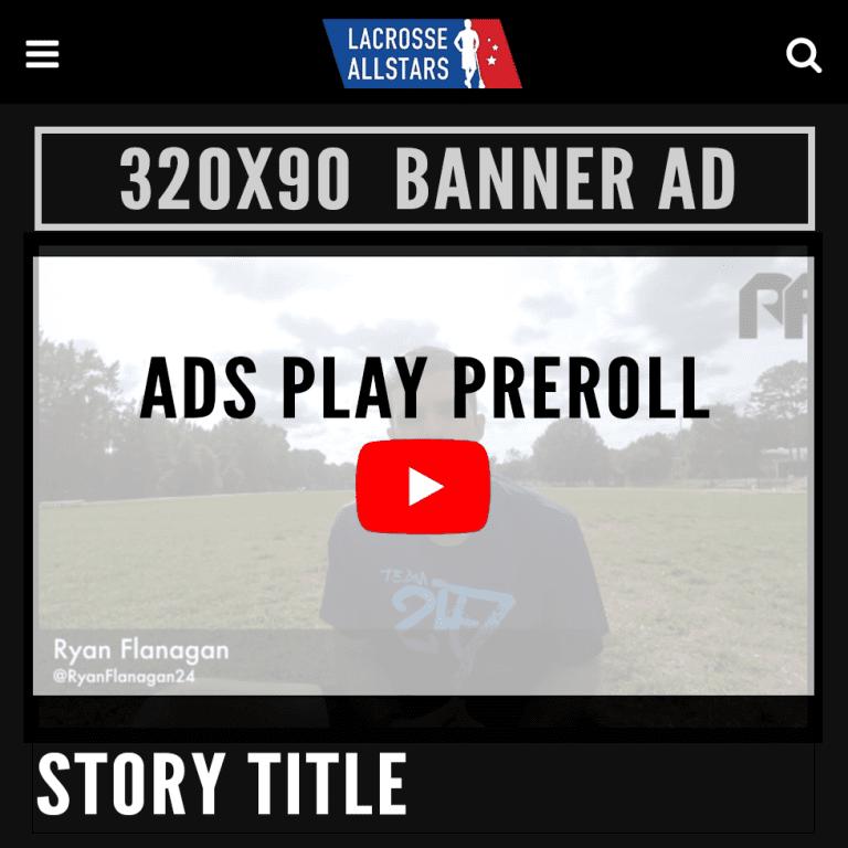 Video Ads - LaxAllStars Video Advertising