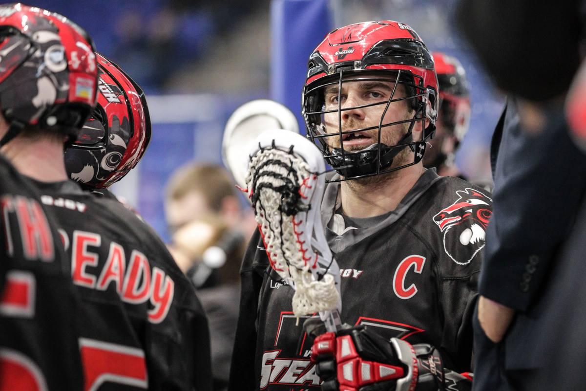 Curtis Hodgson NLL Vancouver Stealth Dan Brodie