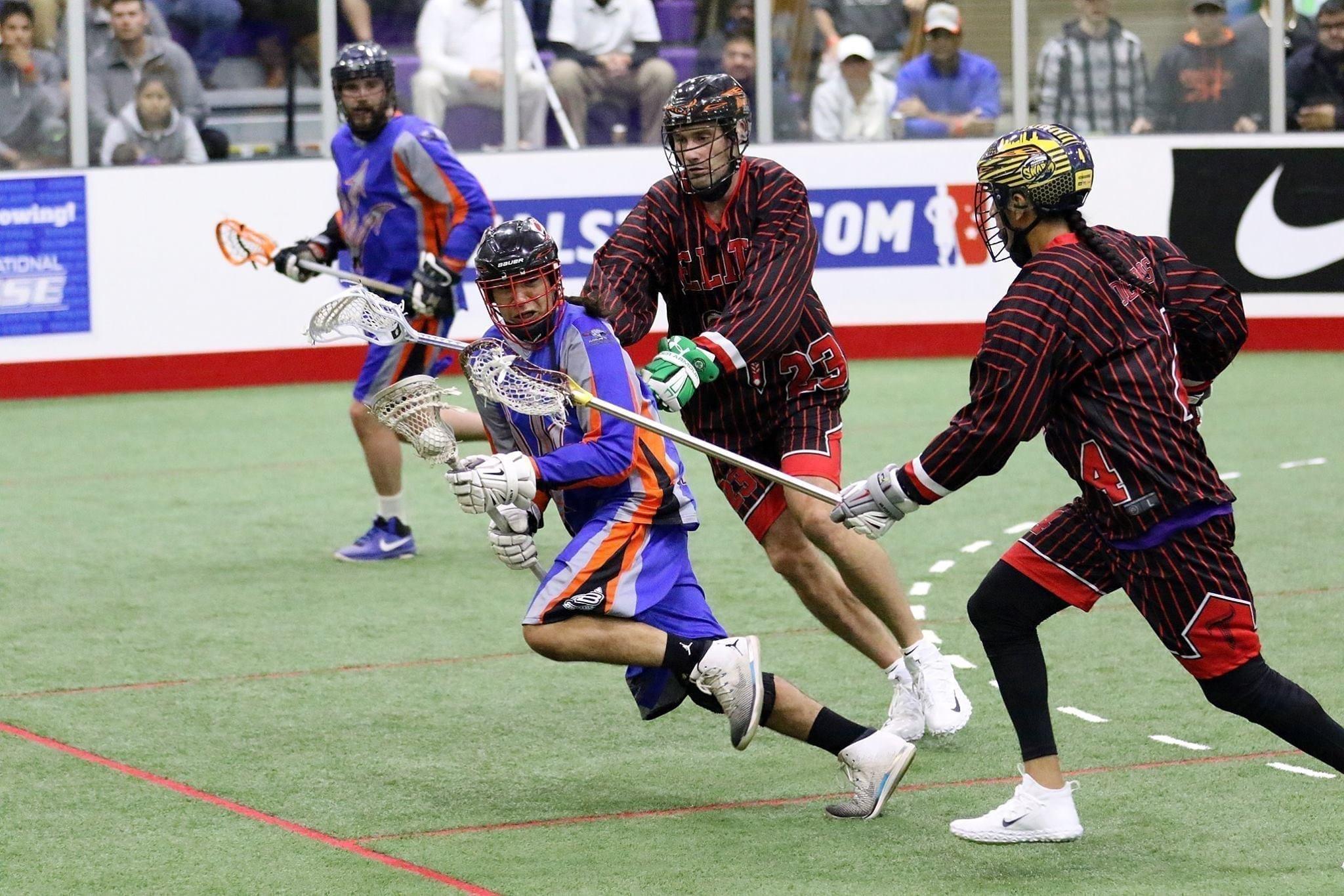 LASNAI 2017 LaxAllStars North American Invitational box lacrosse Onondaga Nation Cleveland Demons Thompson Brothers Lacrosse photo: Jeff Melnik