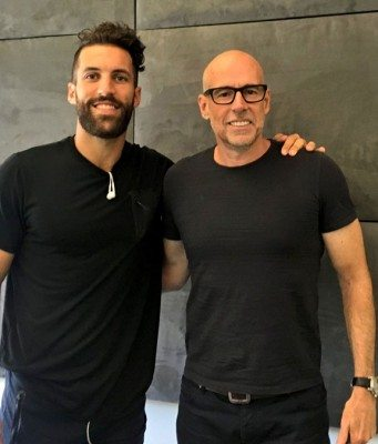 Scott Galloway Suiting Up with Paul Rabil