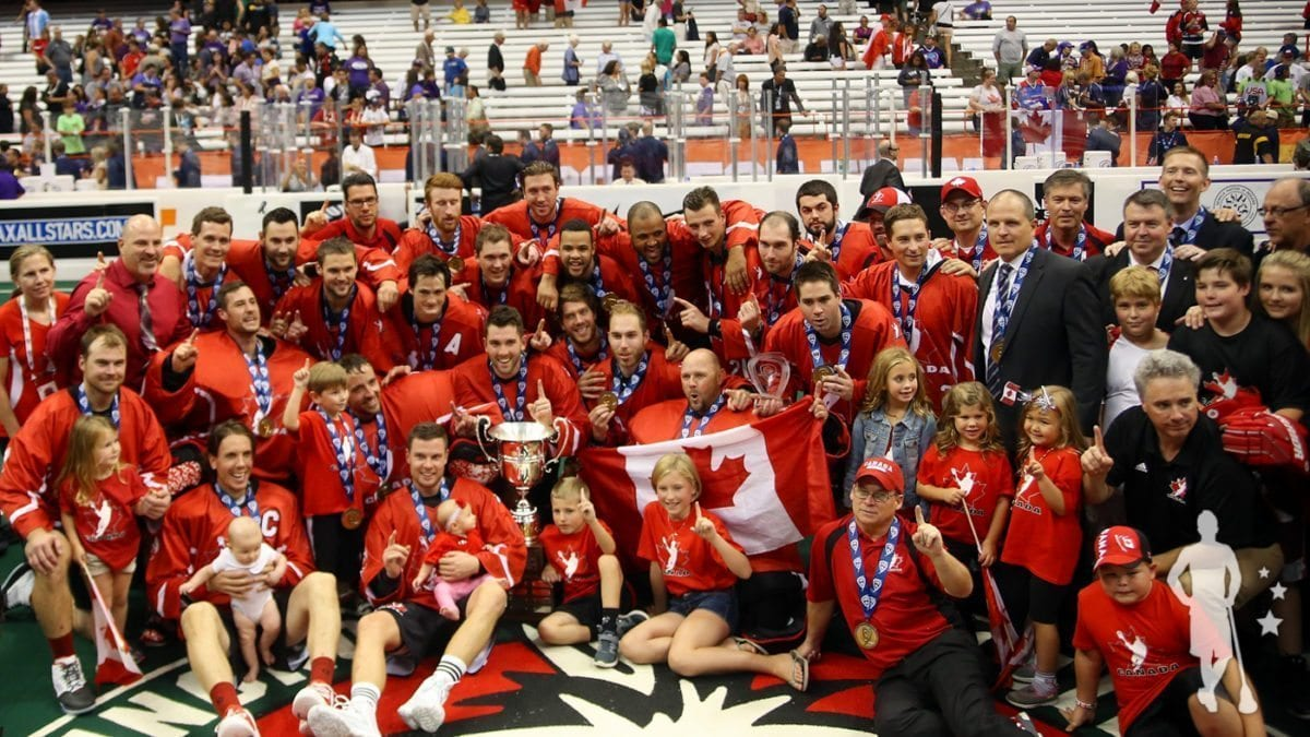 Canada - 2015 World Indoor Lacrosse Champions world lacrosse