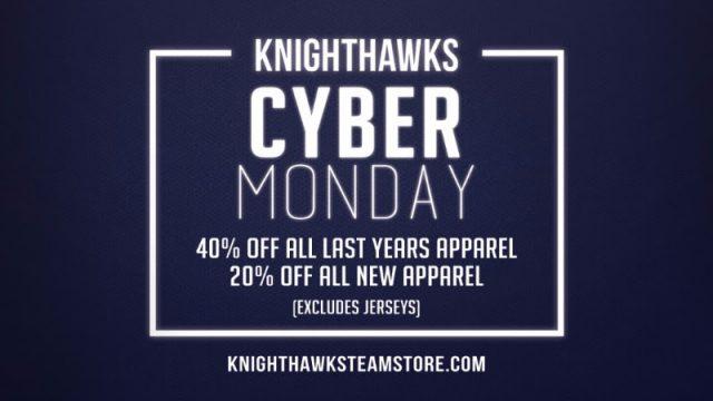 knighthawks cyber monday