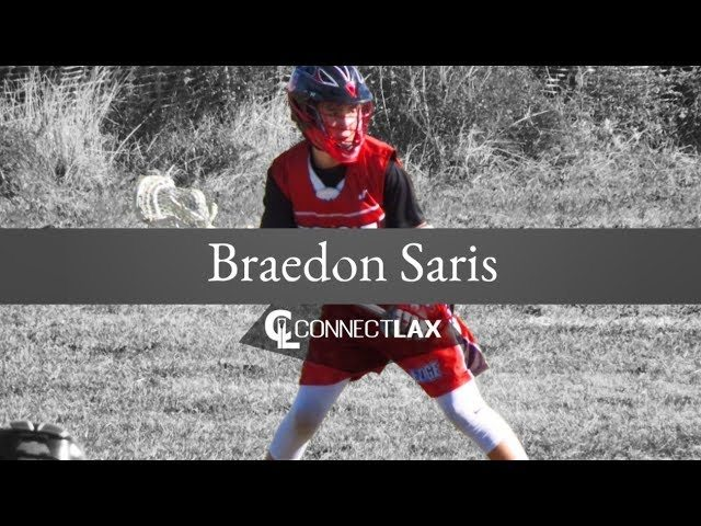 Braedon Saris Uncommitted Lacrosse All Star