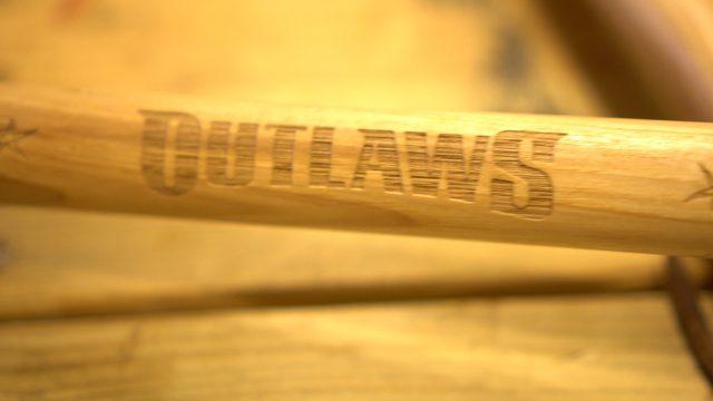 JoJo War Drummer Twig Wooden Lacrosse Sticks Justin Skaggs