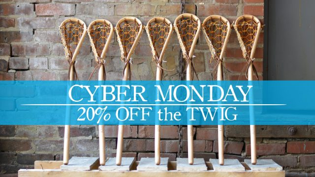 wood lacrosse sticks cyber monday