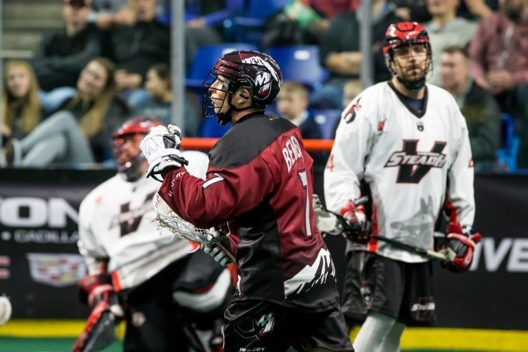 Vancouver Stealth 2017-18 Home Opener Colorado Mammoth 12/8/2017