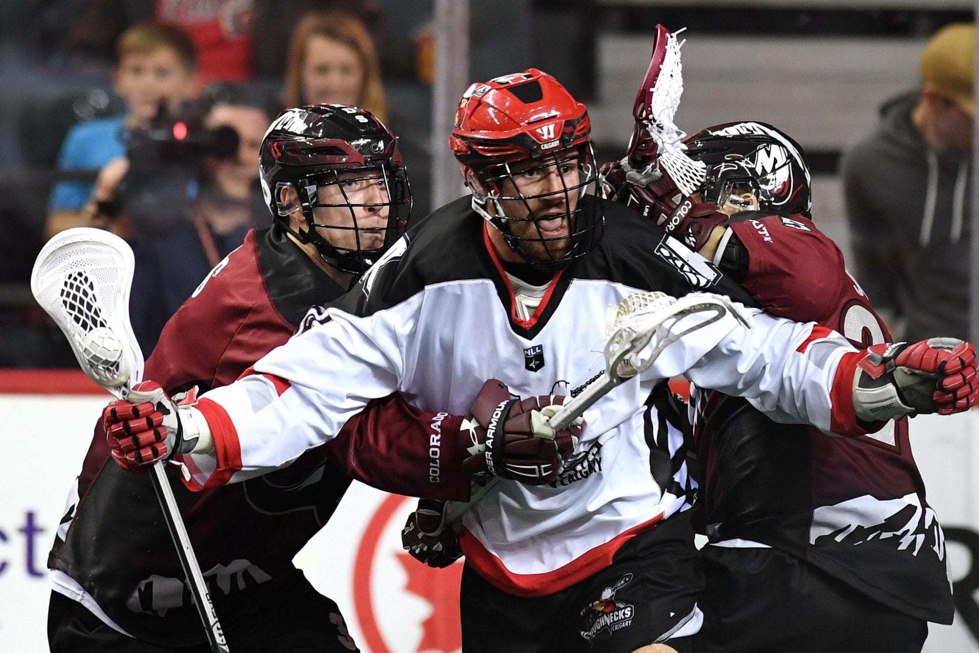 Calgary Roughnecks Colorado Mammoth NLL 2018 Week 4