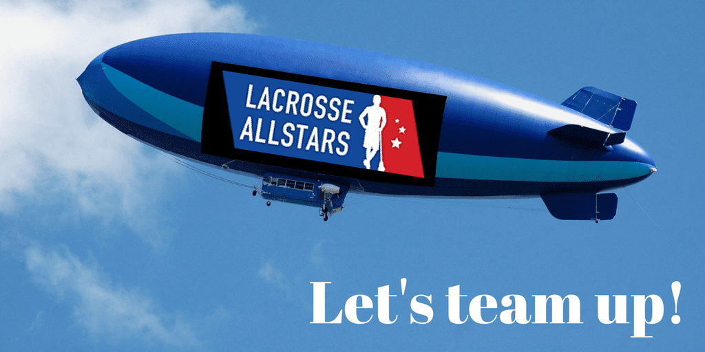 advertise - team up with laxallstars