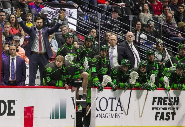 Saskatchewan Rush Colorado Mammoth NLL 2018 Photo: Jack Dempsey