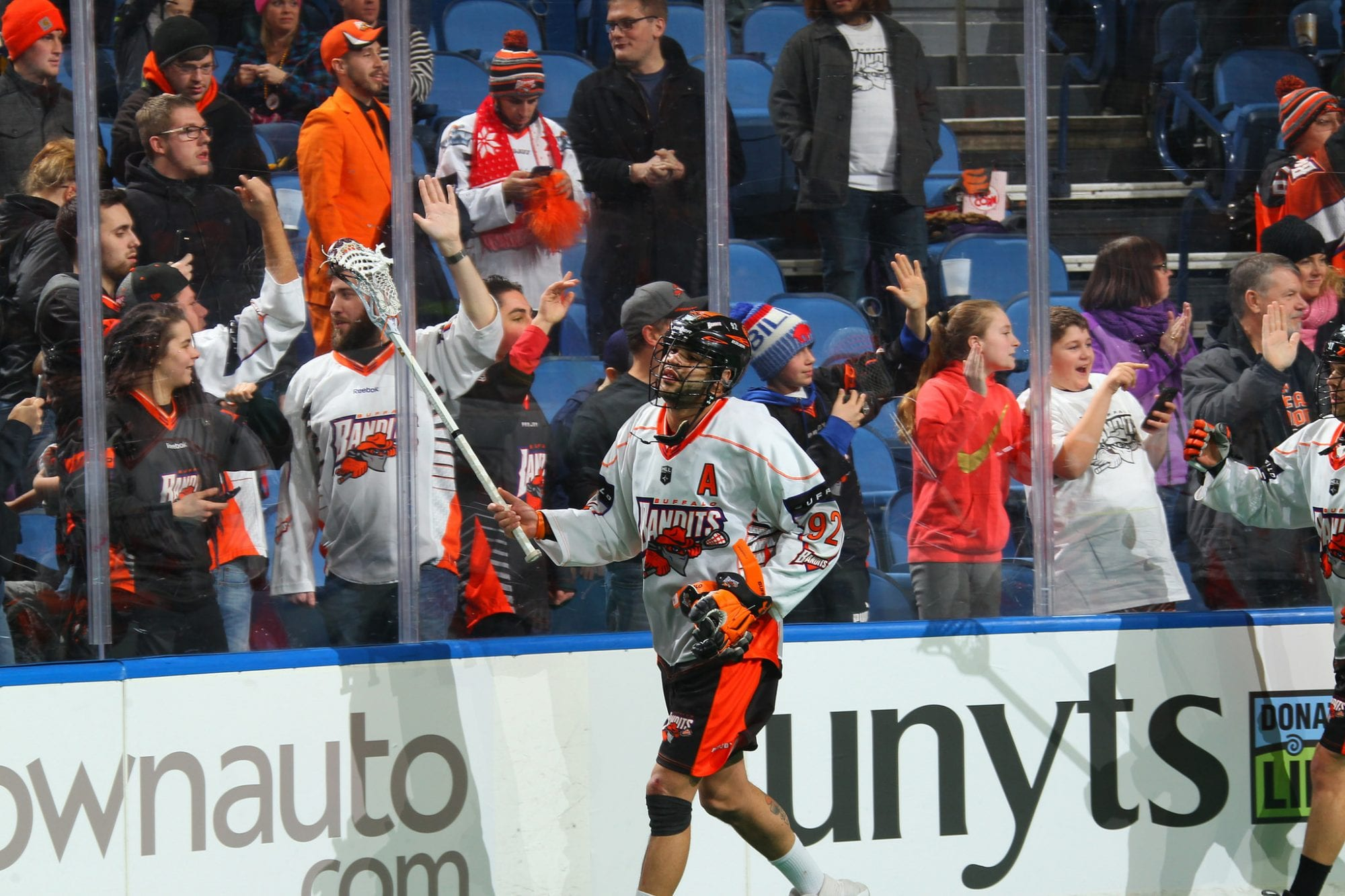 Dhane Smith Buffalo Bandits 2018 NLL
