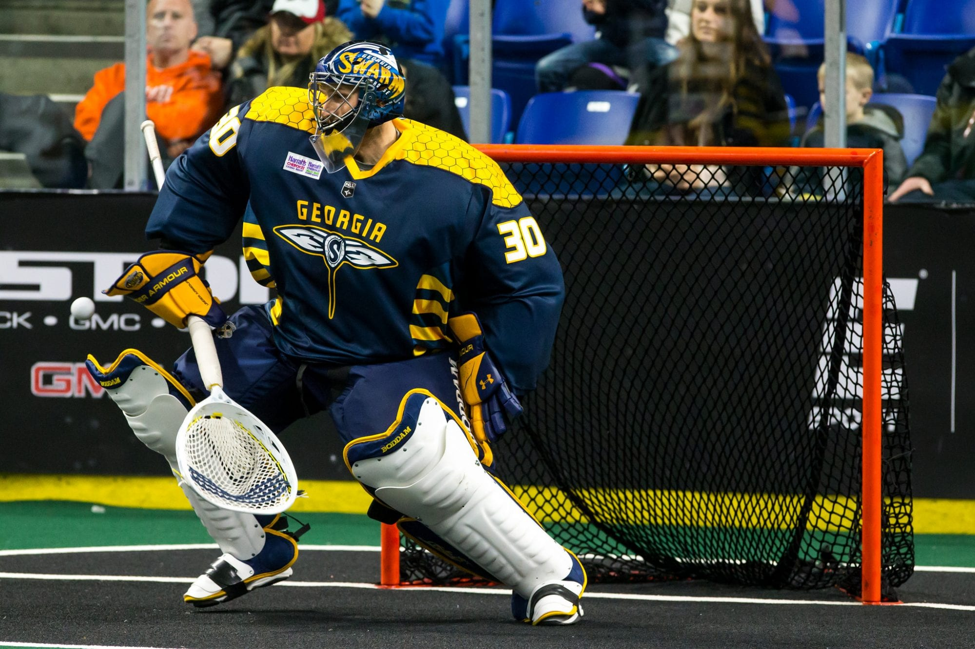 Mike Poulin, Georgia Swarm.