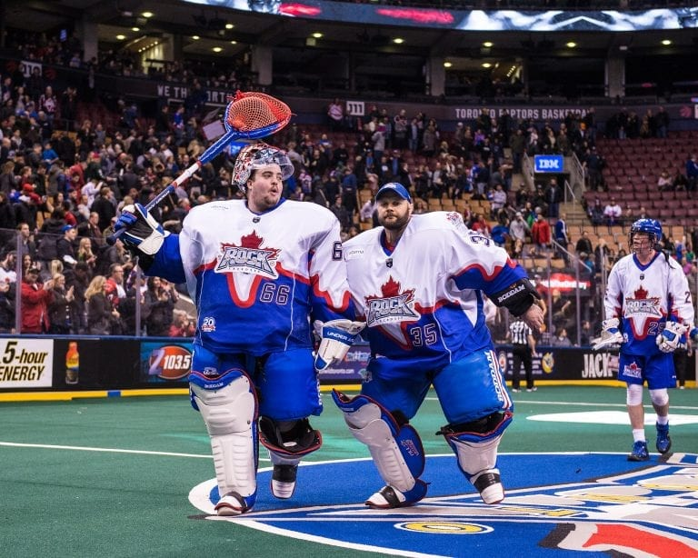 NLL Goalie Nick Rose Brandon Miller Toronto Rock