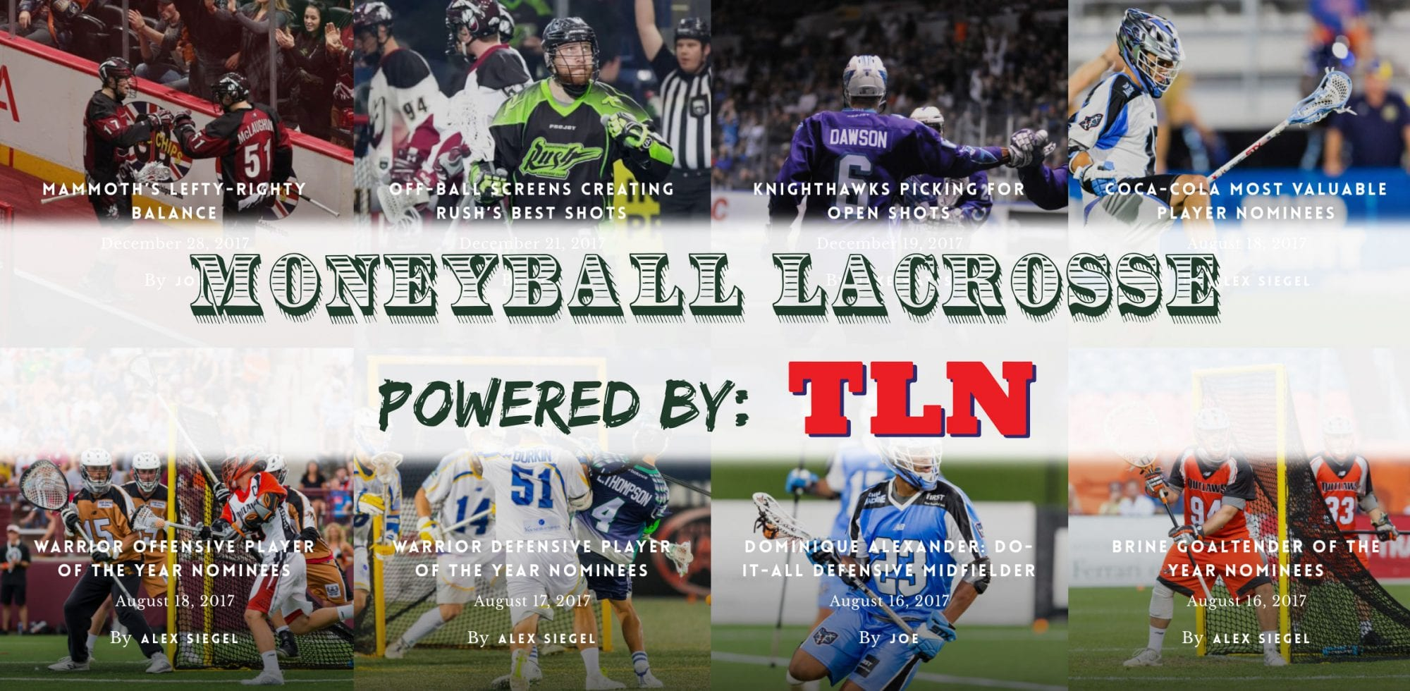 moneyball lacrosse powered by TLN NLL