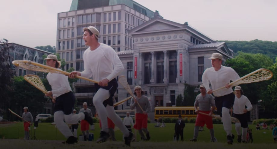 lacrosse: nation's game documentary