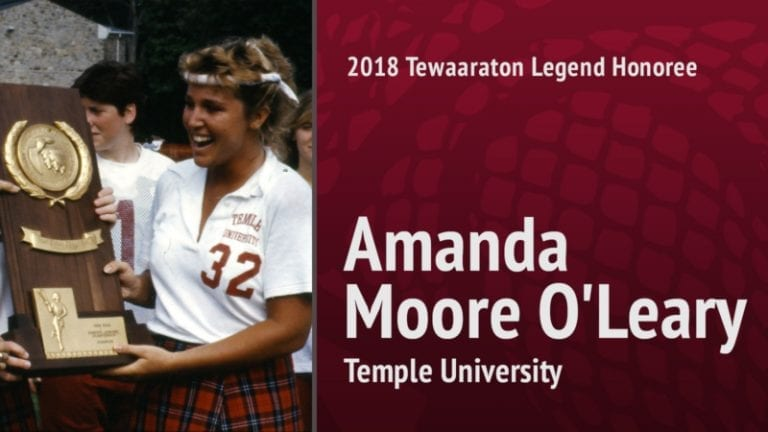 2018 tewaaraton legend - Amanda Moore O'Leary