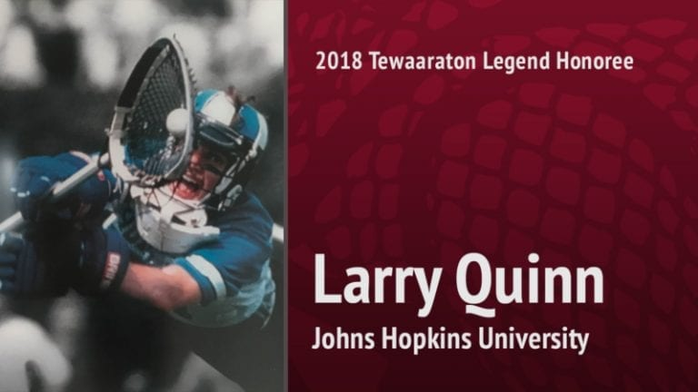 2018 tewaaraton legend - Larry Quinn