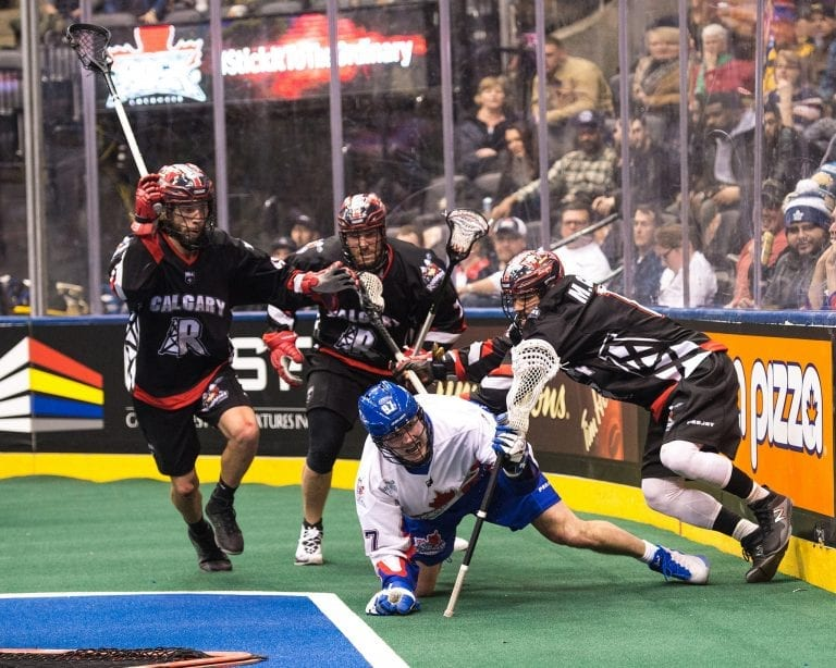 Calgary Roughnecks Toronto Rock 2018 NLL Photo: Ryan McCullough