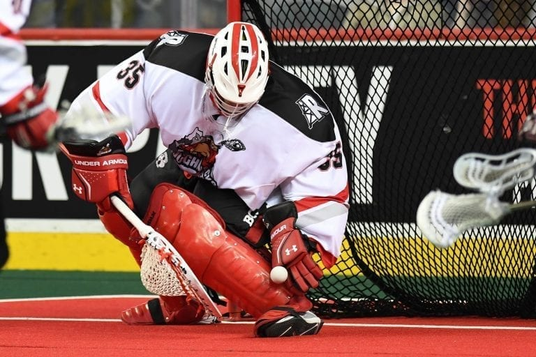 Christian Del Bianco Calgary Roughnecks NLL 2018