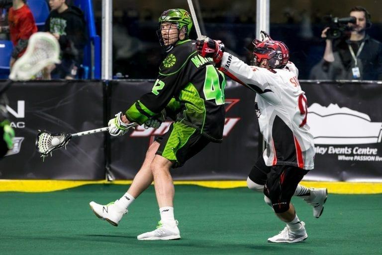 Saskatchewan Rush Vancouver Stealth NLL 2018