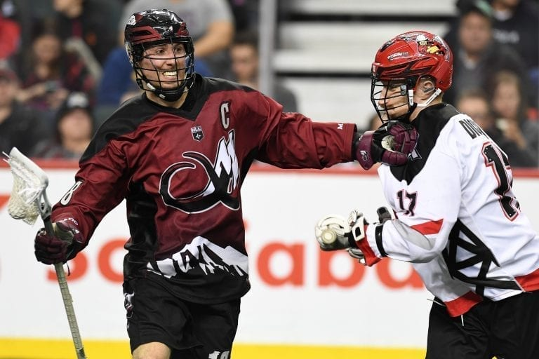 Robert Hope Colorado Mammoth NLL 2018