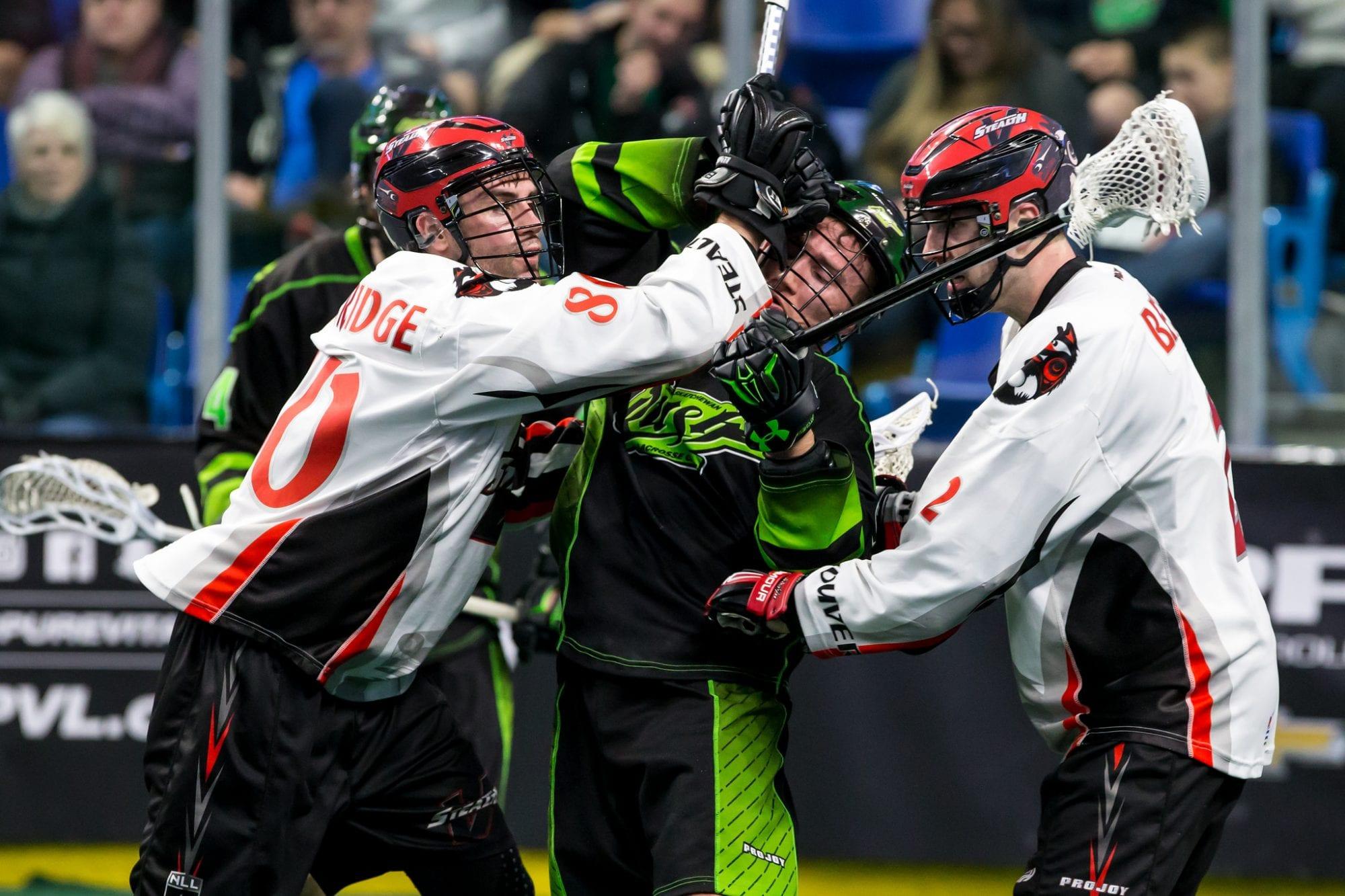 Vancouver Stealth Saskatchewan Rush NLL 2018 Expansion Draft