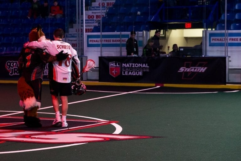 Vancouver Stealth Logan Schuss Mid-Season Awards NLL 2018