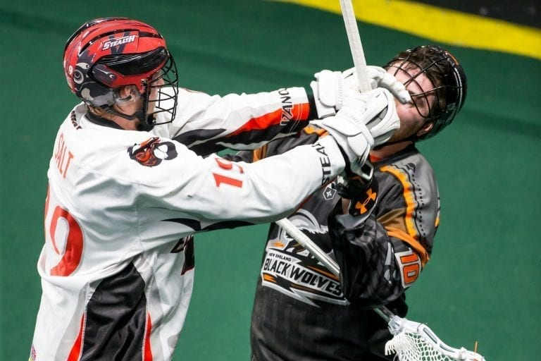 Vancouver Stealth New England Black Wolves NLL 2018