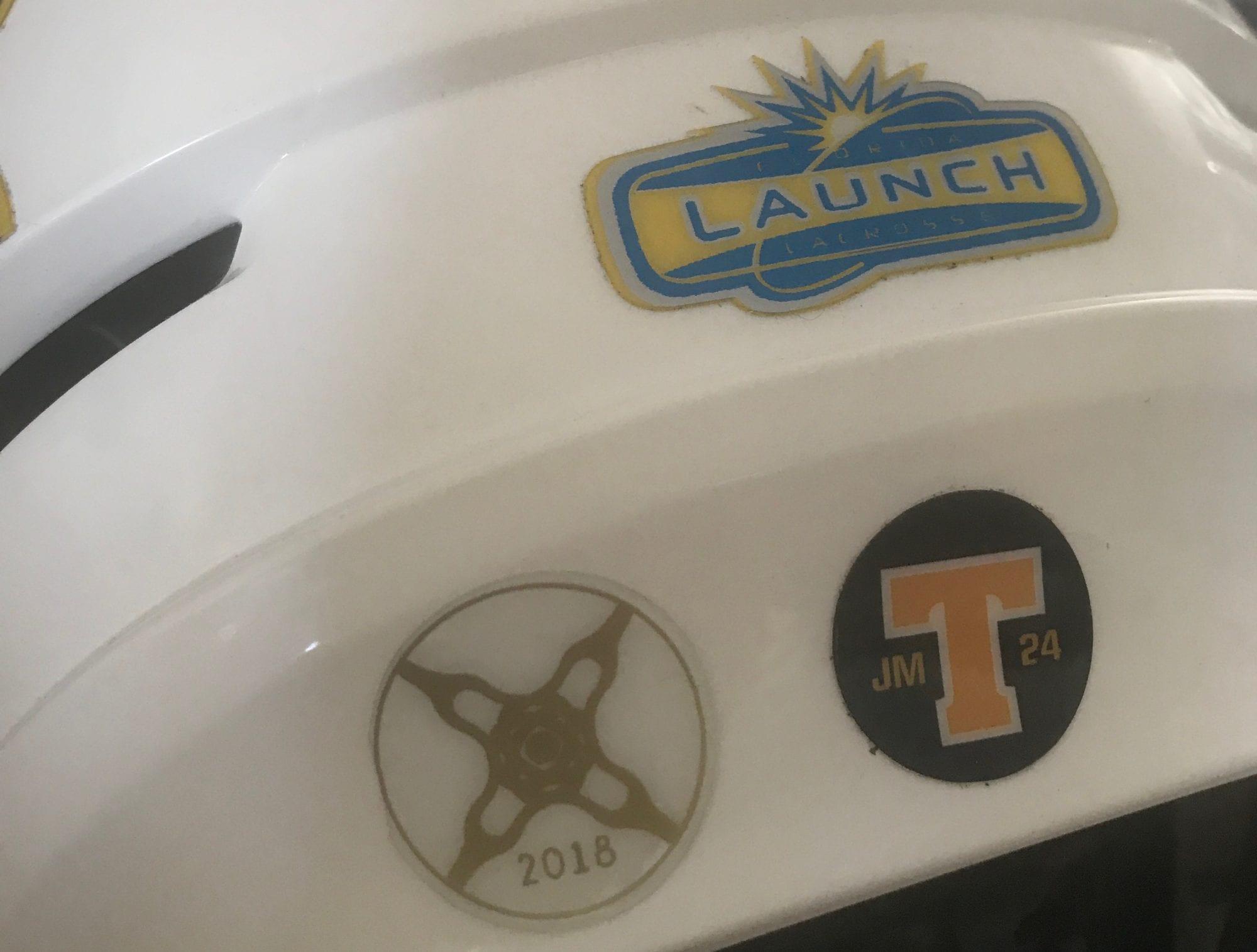 casey powell world lacrosse sticker