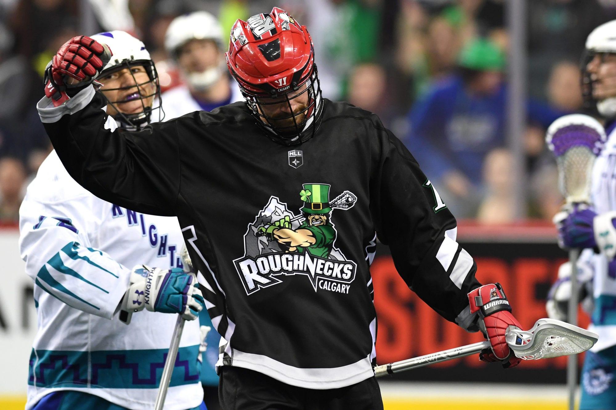 Curtis Dickson Calgary ROughnecks NLL 2018 lacrosse gifs