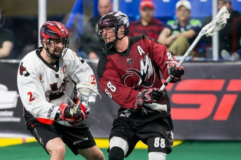 Zack Greer Colorado Mammoth NLL 2018 work ethic