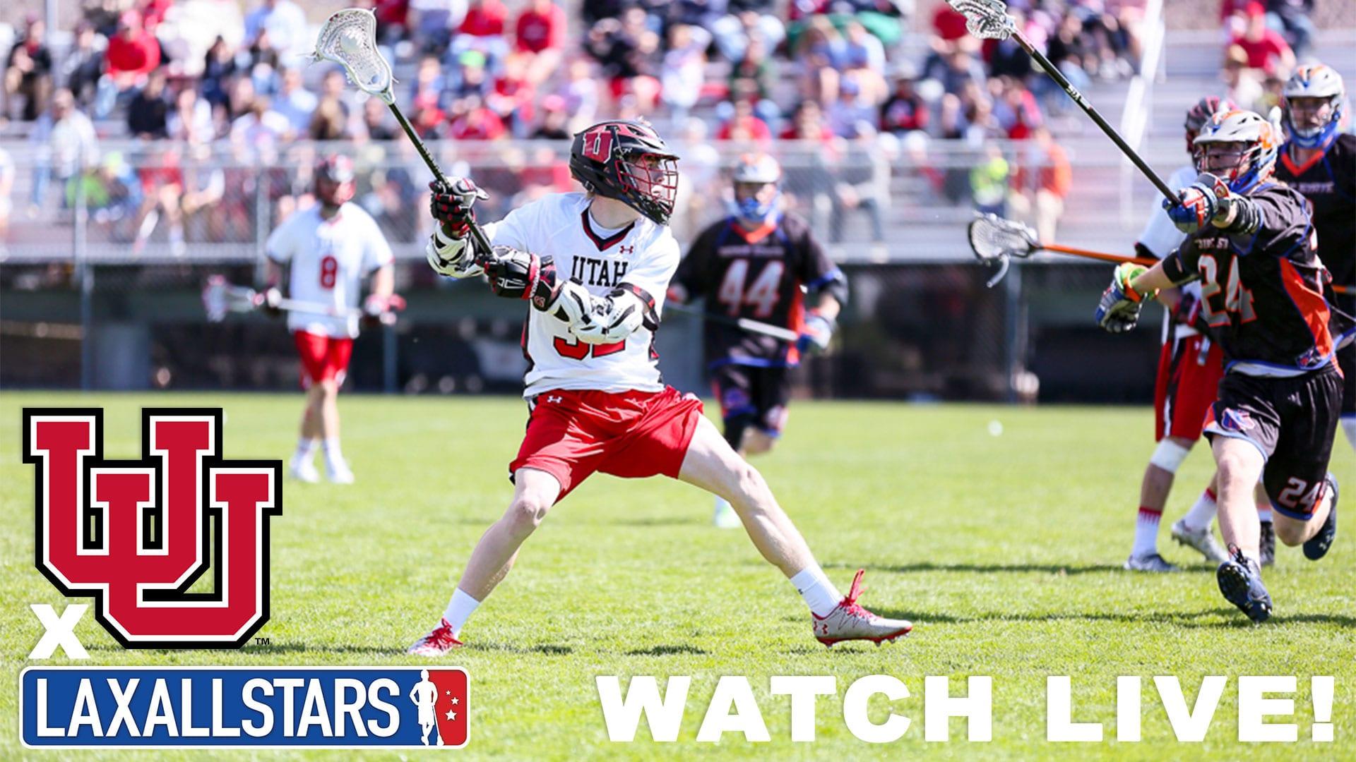 Utah Utes Men's lacrosse games on LaxAllStars
