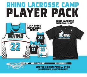 Rhino Lacrosse Camp Player Pack
