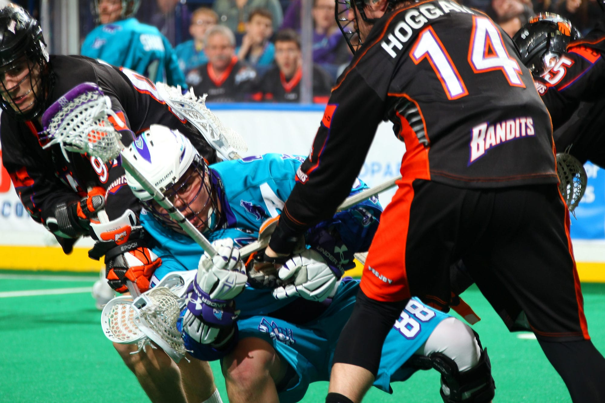 Rochester Knighthawks Buffalo Bandits NLL 2018 Photo: Bill Wippert