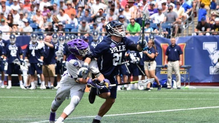 Albany vs Yale 2018 NCAA Semifinals Ryan Conwell