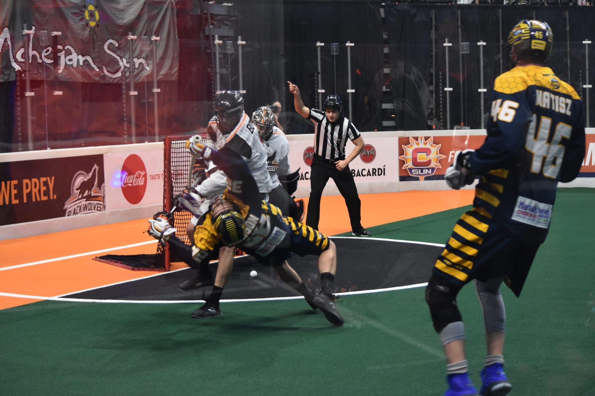 nll big hit lacrosse box