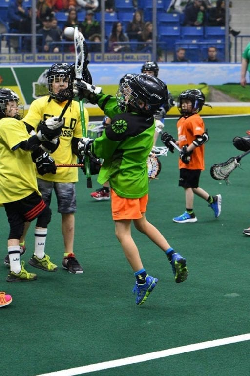 Vasyli Rush Game Saskatchewan youth lacrosse minor lacrosse 041418