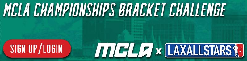 mcla bracket challenge join - men's collegiate lacrosse association
