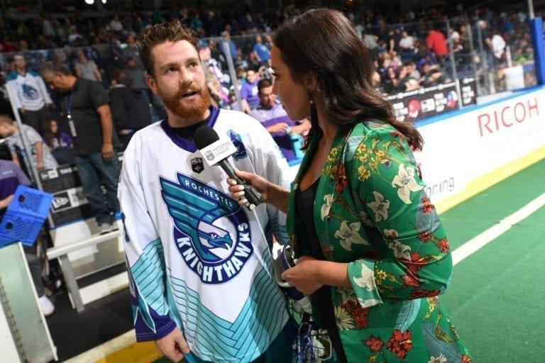 Game 2 of the NLL Finals Rochester v Saskatchewan 6.2.2018