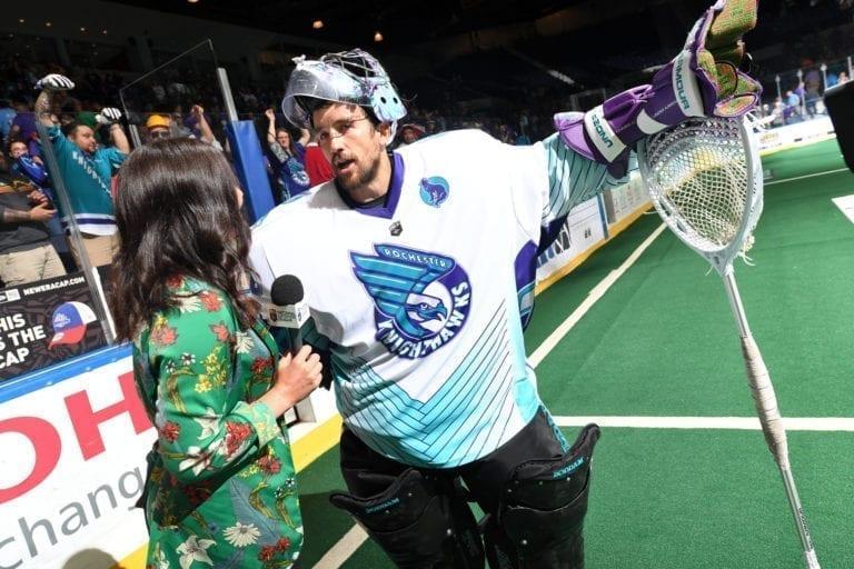 Game 2 of the NLL Finals Rochester v Saskatchewan 6.2.20181``