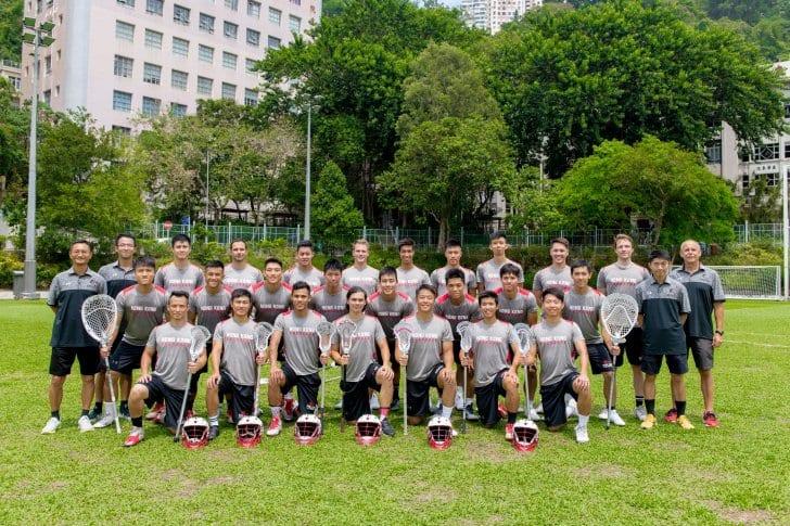 Hong Kong national lacrosse team 2018
