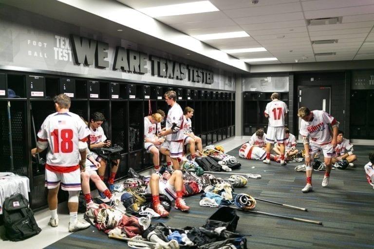 Adrenaline All-American treatment - locker rooms
