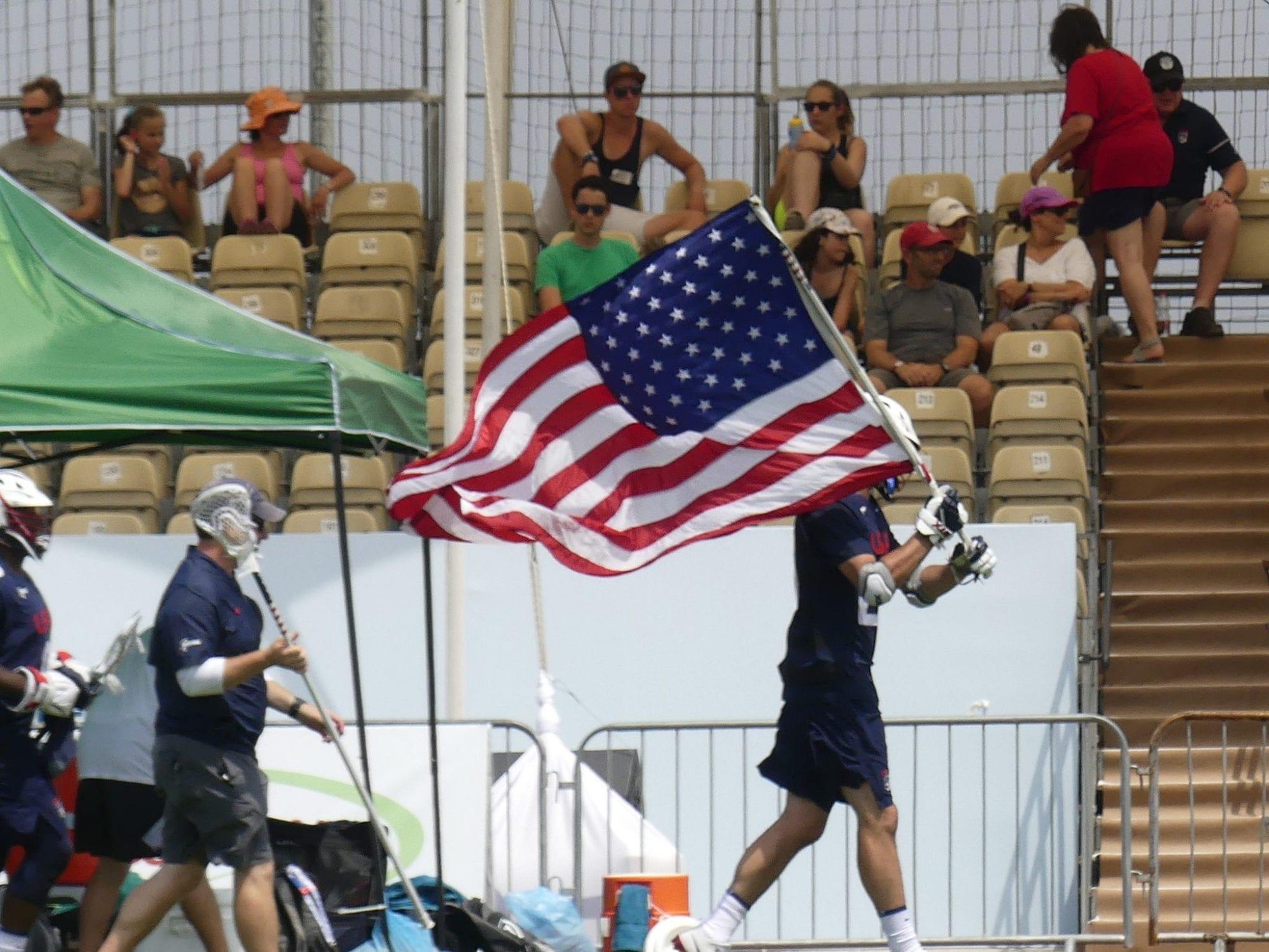 Photo: USA Australia 2018 World Lacrosse Championships Roger DavisRoger Davis / World Lacrosse Championships