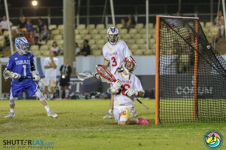 Israel Russia 2018 FIL World Lacrosse Championships ShutterLax.com Marek Stor