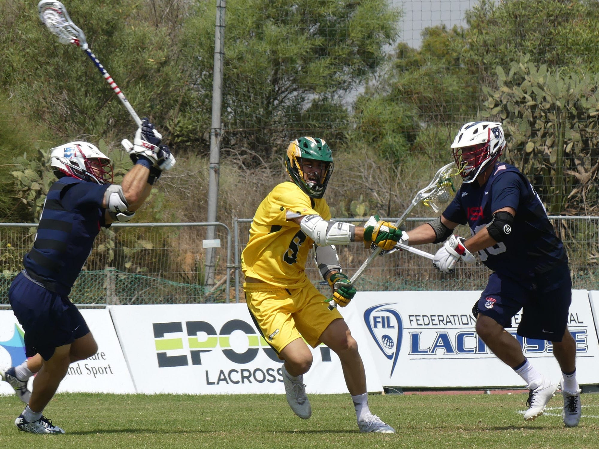 usa lacrosse australia 2018 Day 10 FIL top photos blue group