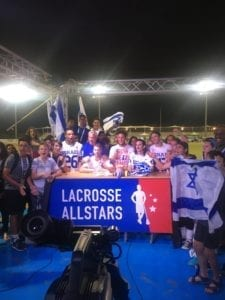 One set at The LASt Word with some spirited Israel Lacrosse players and fans