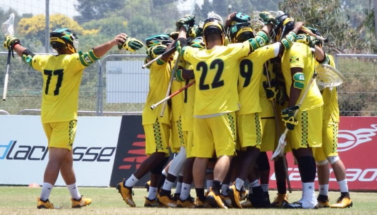 jamaica lacrosse World Championships FINAL