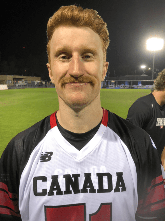 Curtis Dickson Lacrosse Global Mustache Rankings - World Championships 2018 top photos blue group